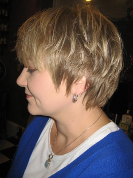 Short Hair Girl Haircut